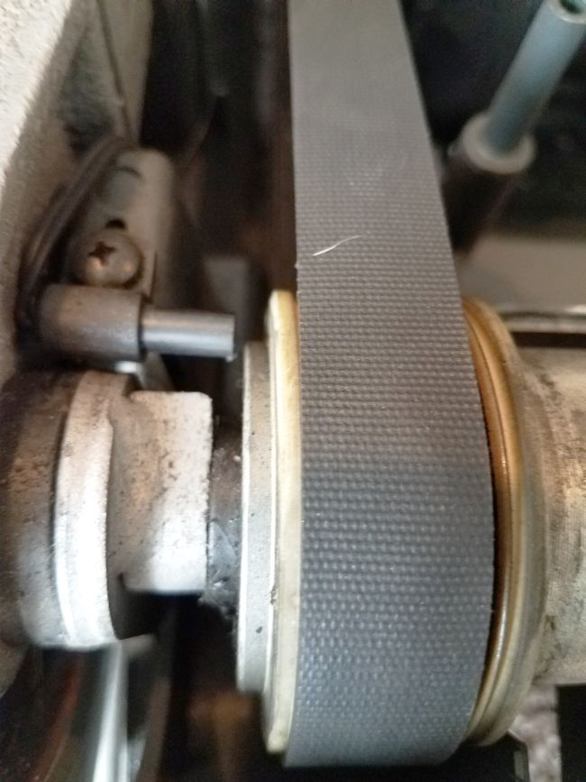 Properly spaced speed reed sensor to roller